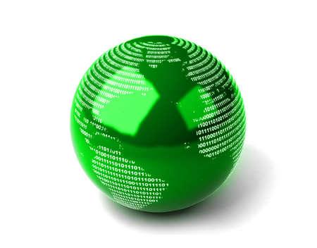 binary globe: Binary Globe