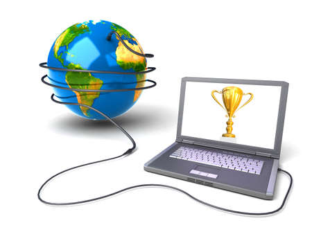 Global network the Internet Stock Photo - 7324287