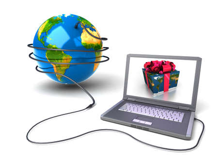 Global network the Internet Stock Photo - 7324309