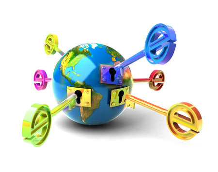 electronic commerce: E-key