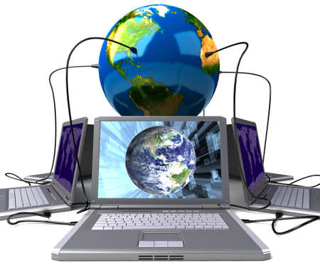 Global network the Internet Stock Photo - 7324982