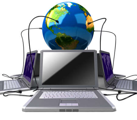 Global network the Internet Stock Photo - 7324732