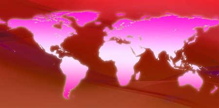 World Map  Stock Photo - 7324307