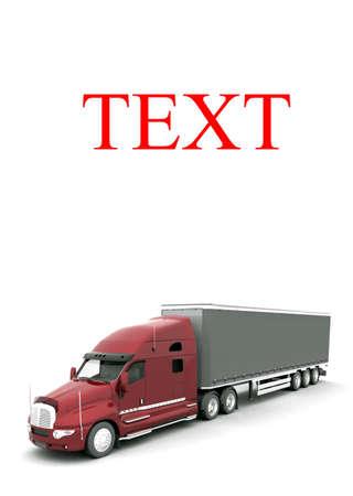 Modern Truck Stock Photo - 7324015