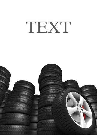 Tyres Stock Photo - 7325199