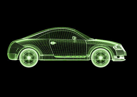 Car model Stock Photo - 7345782