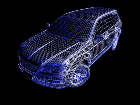 drawings image: 3d Car