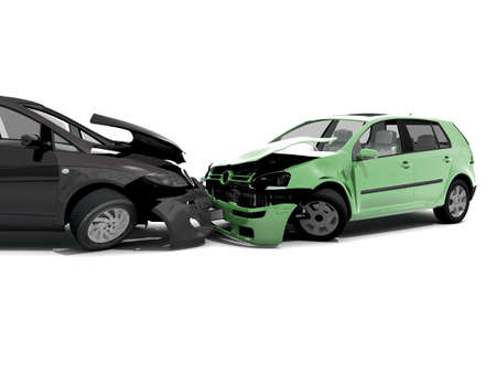 traffic accidents: Car accident