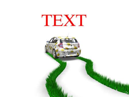 Eco-friendly car concept Stock Photo - 7345399