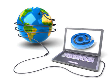 Global network the Internet Stock Photo - 7345501