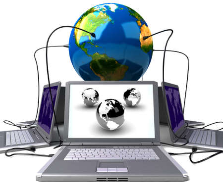 Global network the Internet Stock Photo - 7345599