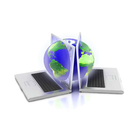 Global network the Internet Stock Photo - 7345451