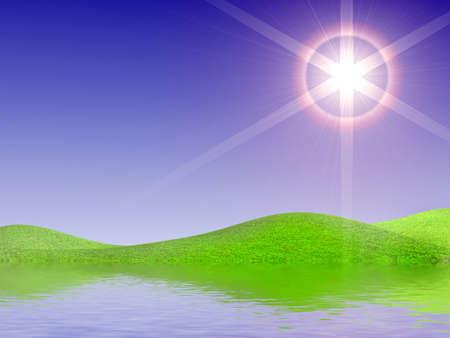 Beautiful sun day Stock Photo - 7345711