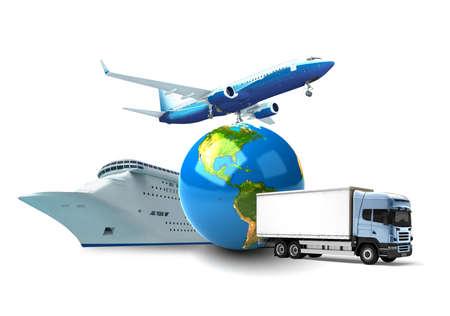air freight: Transportation