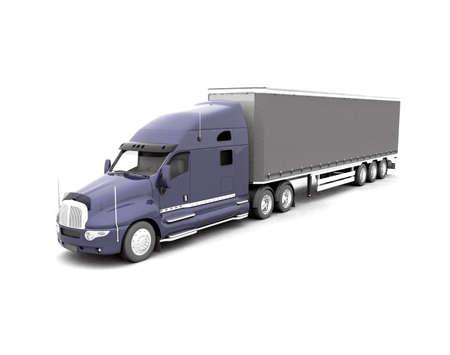 Modern Truck Stock Photo - 7345443