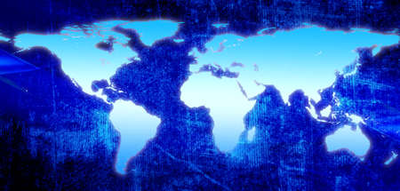 World Map Stock Photo - 8926395