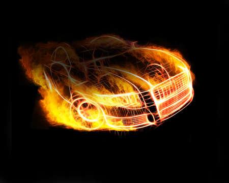 voiture de pompiers: Mod�le de voiture