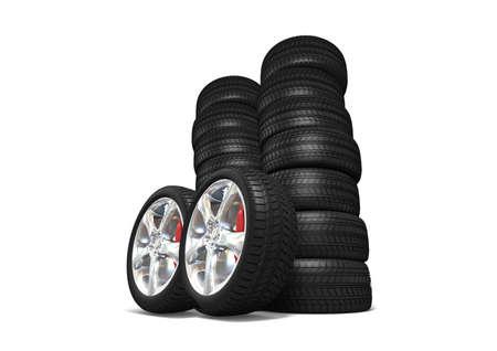 Tyres Stock Photo - 10556853
