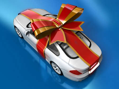 Gift Car Stock Photo - 11047244