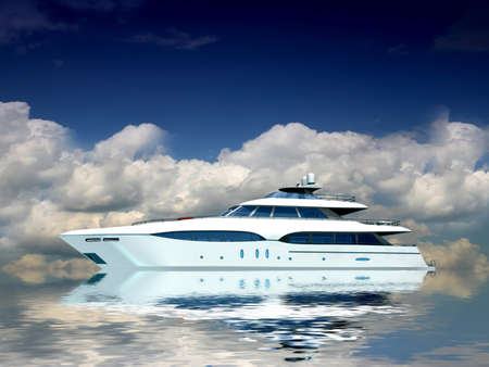 Luxury Yacht  photo