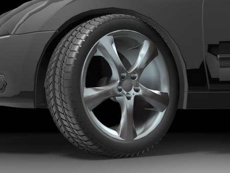 Sport Car Wheel photo