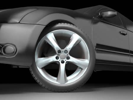 Sport Car Wheel photo