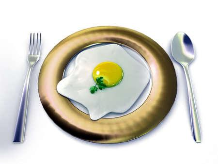 fired egg: Fired egg