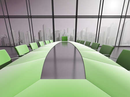 Conference room interior  photo