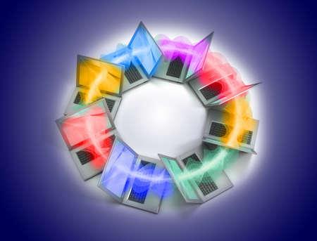 Laptop ring photo