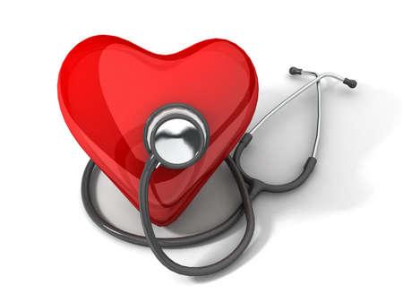 equipos medicos: Salud del coraz�n  Foto de archivo