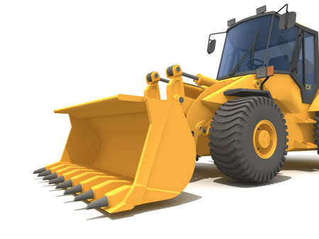 mover: Big yellow buldozer