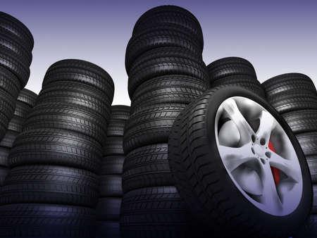 Tyres Stock Photo - 11049061
