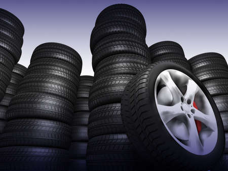 pneumatic tyres: Tyres