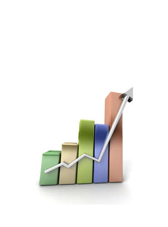 Business growth  Stock Photo - 11047332