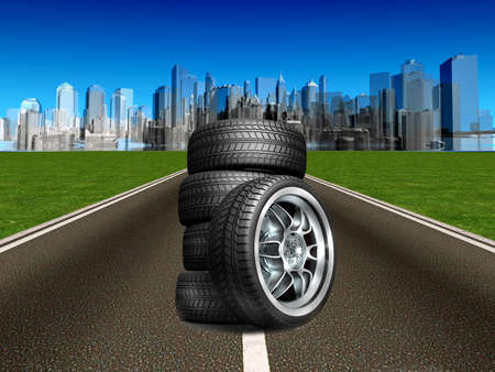 single track: Road