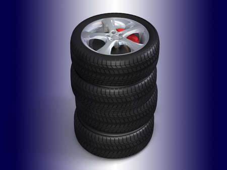 Wheels for the sports car  photo