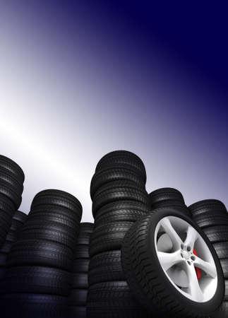 Tyres Stock Photo - 11077922