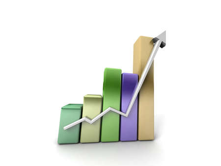 Business growth Stock Photo - 11077272