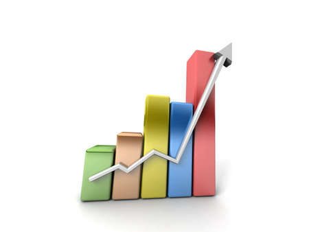 Business growth Stock Photo - 11140508