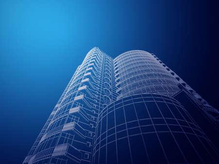Architecture abstraite Banque d'images