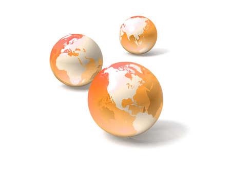 asia globe: Globe