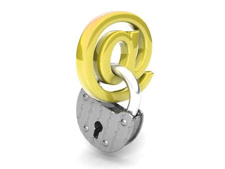 Locked mail Stock Photo - 11141007