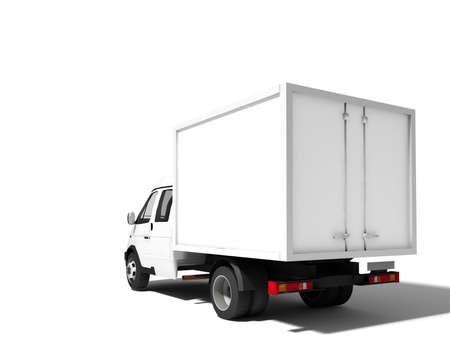 mail truck: Truck