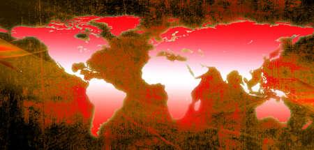World Map Stock Photo - 11326518