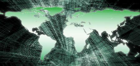 World Map Stock Photo - 11326533