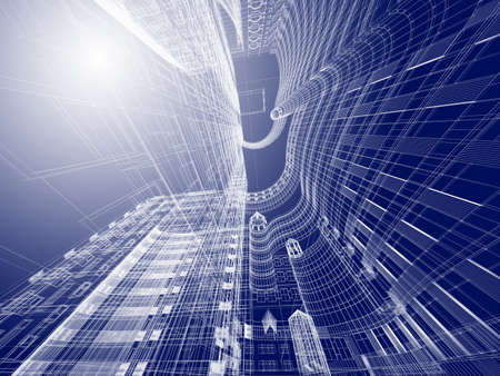 Abstract architecture Stock Photo - 11326462