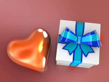 Gift from heart Stock Photo - 11325827