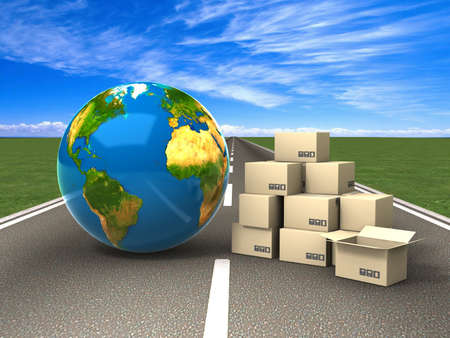 cardboard moving: Transportation