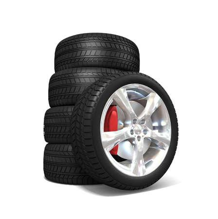 Tyres Stock Photo - 11325241