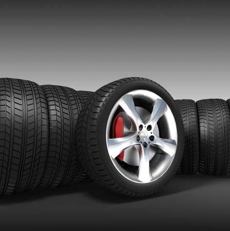 Tyres Stock Photo - 11325792